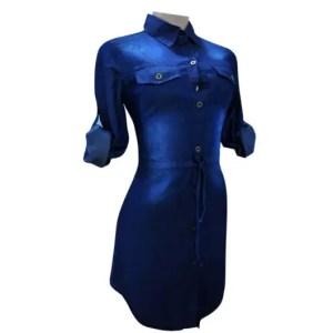Denim Shirt dress Long sleeved