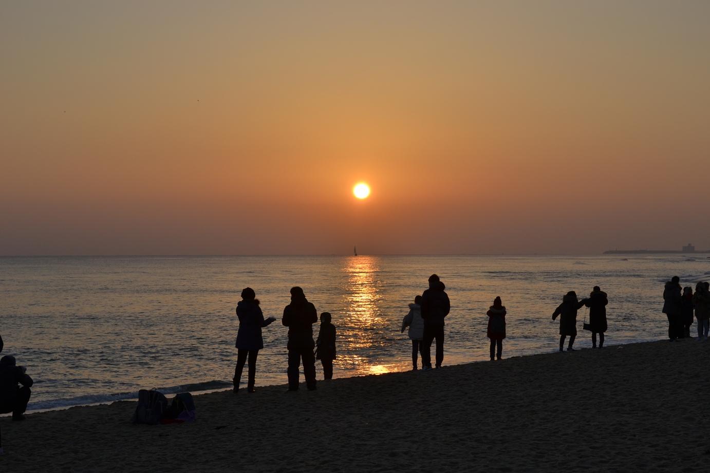 Lever du soleil Gangneung - blog coree du sud - the korean dream 21