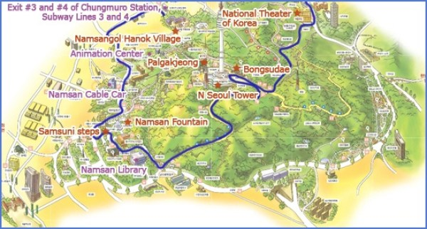Namsan park Seoul top10 Parcs - blog coree du sud - the korean dream