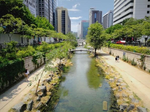 3000 wons - Cheonggyecheon- Blog coree du sud - the korean dream