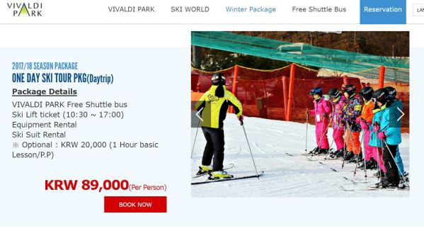 Faire du ski en coree - blog coree du sud - the korean dream