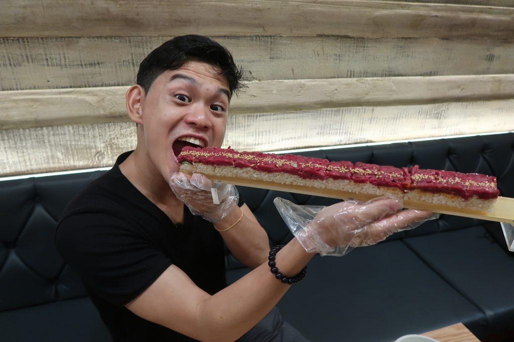restaurants coreens seoul vlog sushi tartare