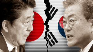 Korea and Japan Feud