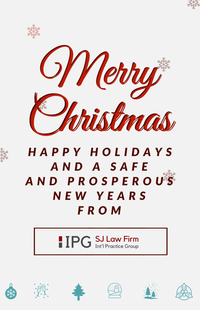 Merry Christmas from IPG Legal.