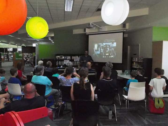 Teaching about the history of 3D printing