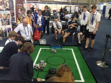 High school Robot challenge