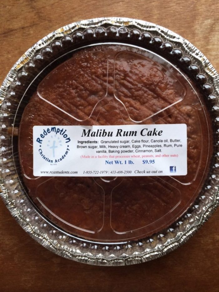 Goodway Bakery Rum Cake