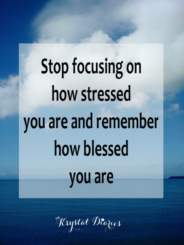 Stop focusing on how stressed you are