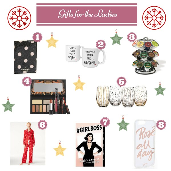 Holiday Gift Guide for the Ladies