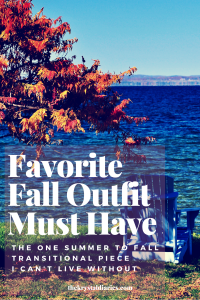 Favorite Fall Outfit Must Have // The Krystal Diaries