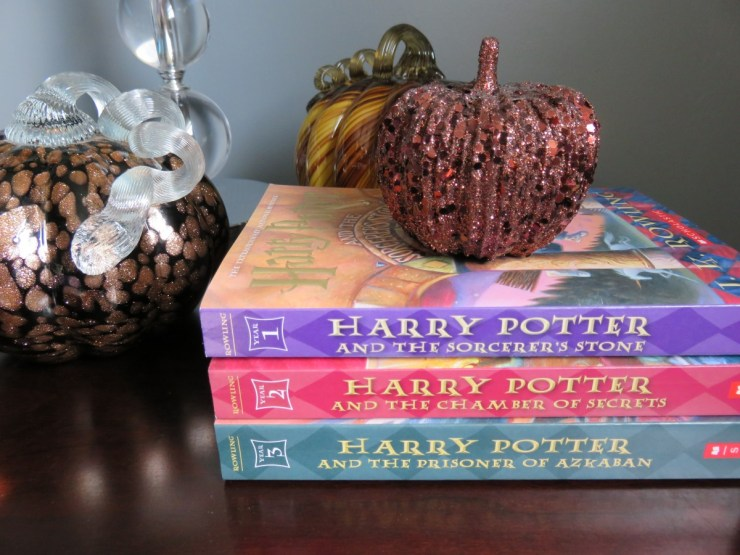 Books I'm Reading this Fall (Harry Potter) // The Krystal Diaries