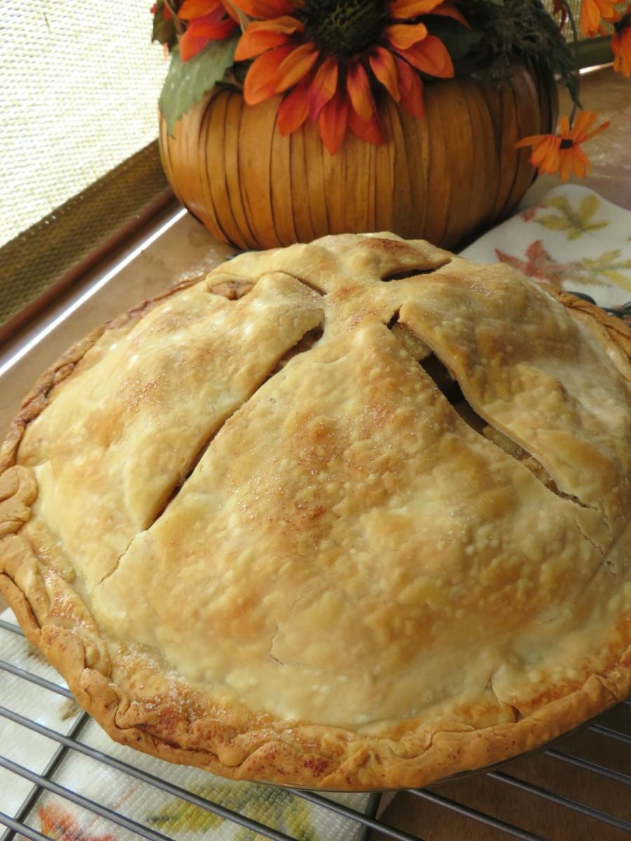 Simple Homemade Apple Pie