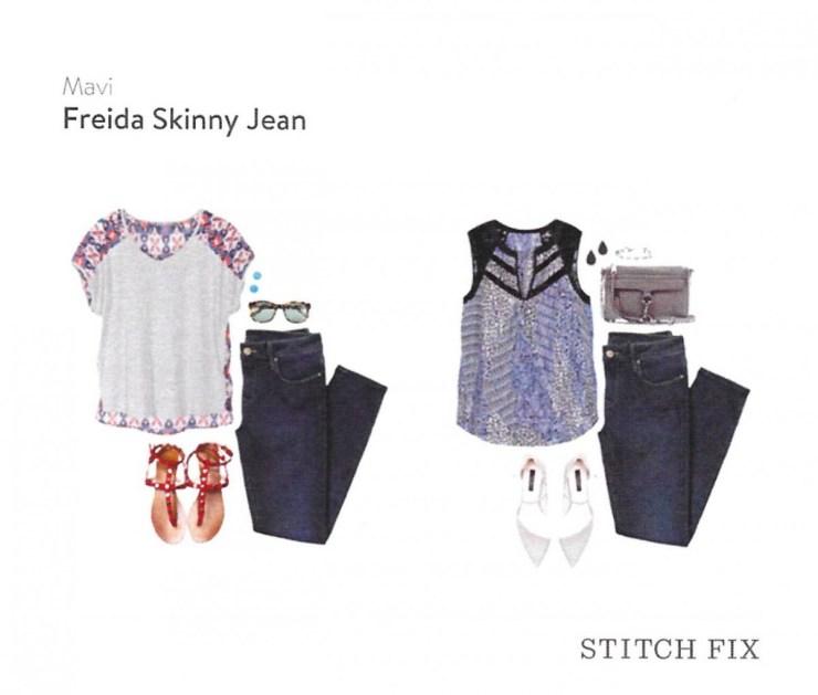 Freida Skinny Jean - Mavi // // Stitch Fix Review October 2016 // The Krystal Diaries
