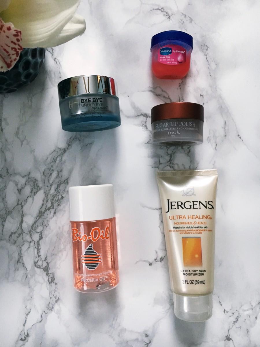 Nighttime Winter Skincare Routine