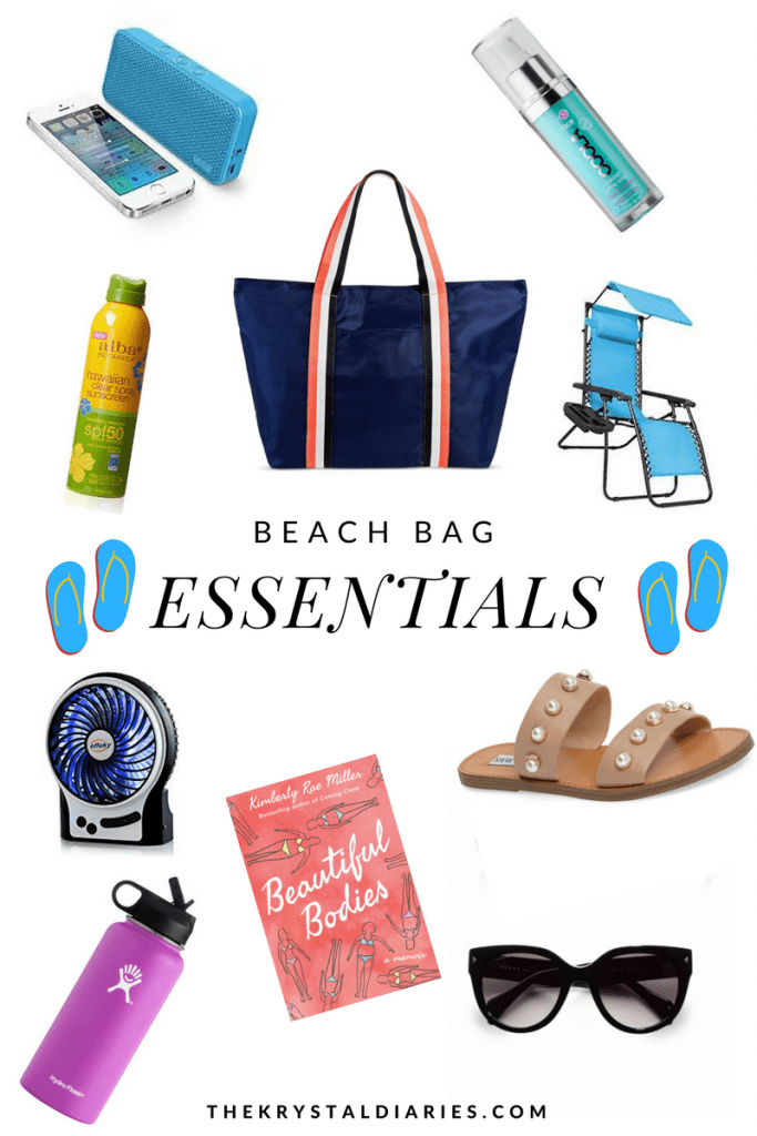 Beach Bag Essentials // The Krystal Diaries