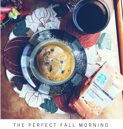 The Prefect Fall Morning - Pumpkin Spice Pancake Recipe // The Krystal Diaries
