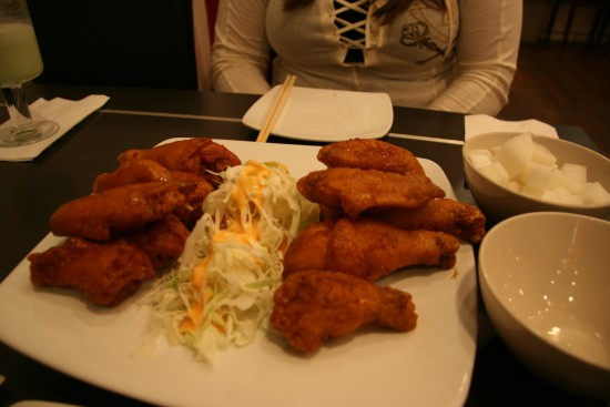Korean Fried Chicken Wings And Drumsticks at Bon Chon Chicken