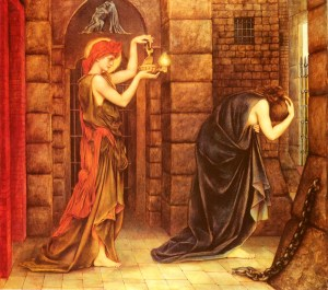 Hope in the Prison of Despair, Evelyn de Morgan