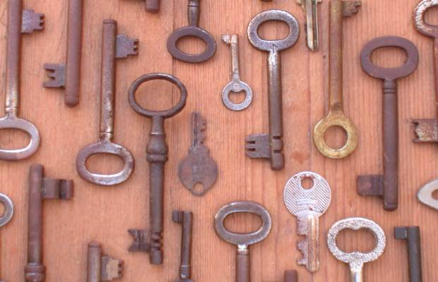 Keys found from years past. [Provided by Google]