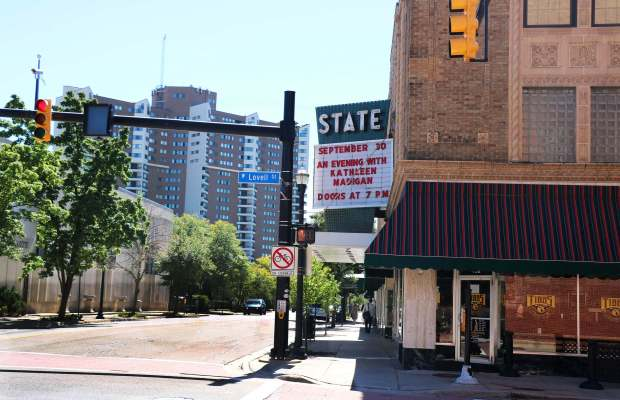 The State Theatre in downtown Kalamazoo [Trisha Dunham / The Index].