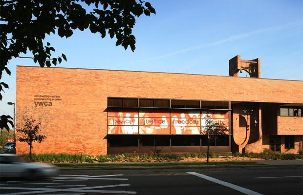 The YWCA building in downtown Kalamazoo (Photo courtesy of the CSM Group).