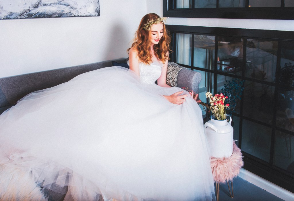 The Lacy Day Wedding Gown Wedding Dress Ball Gown Bridal Dress Princess Dress Made to measure dress