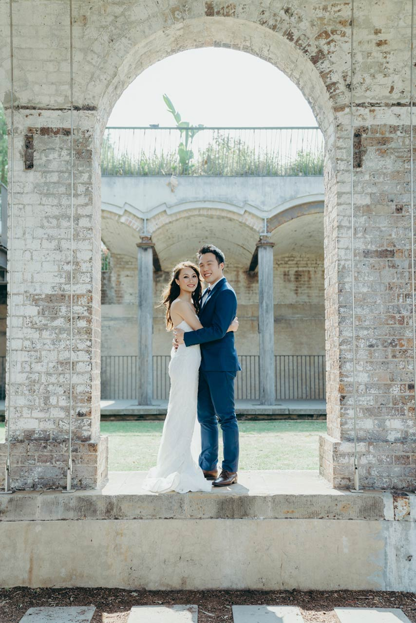 Sydney Pre-wedding Photography - The Lacy Day - Paddington Reservoir Garden