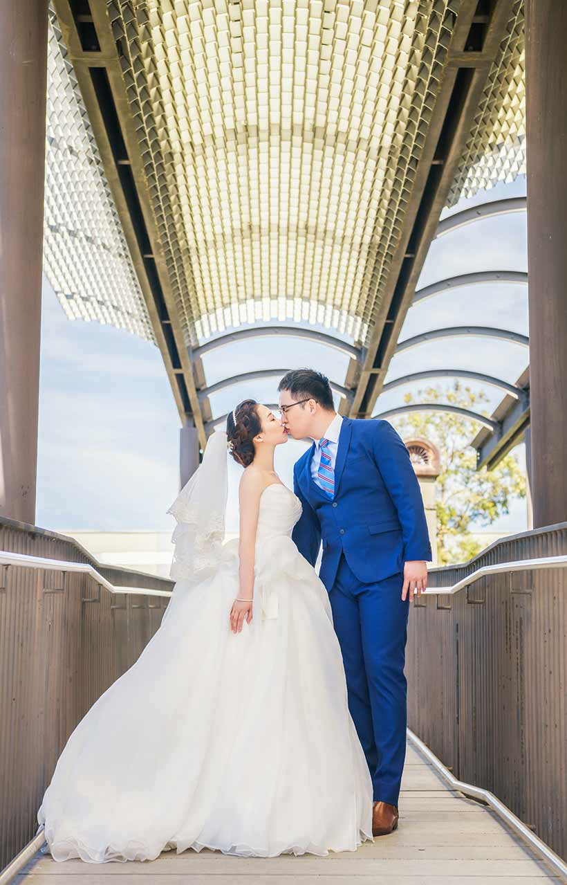 paddington reservoir pre-wedding photoshoot
