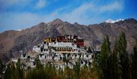 thiksay monastery, thiksey monastery, buddhist monastery, ladakh monastery, leh monastery