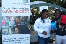 Give Blood Tent