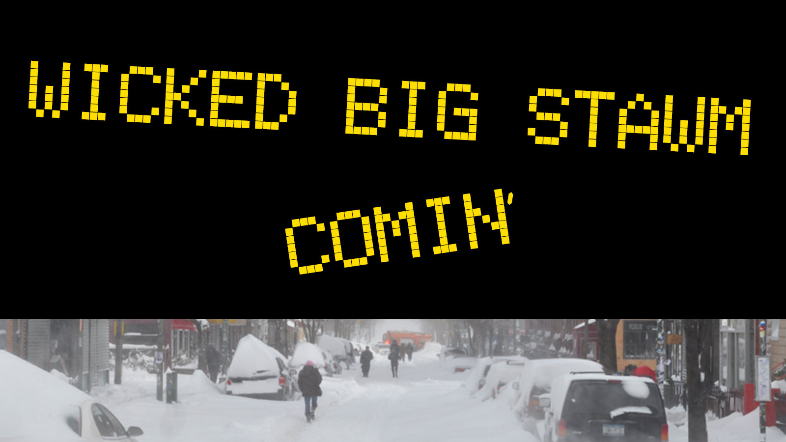 The best memes from winter storm Stella  Ladders
