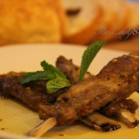 "Slow cooked crock-pot lamb short-ribs - ""And the mountains echoed"" book review."