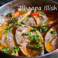 Bhapa Illish - Steamed Hilsa Fish in mustard sauce made from scratch