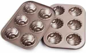 Webake Non-stick Madeleine Pans Carbon Steel Cake Pan