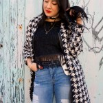 Melina Morry of The Lady-like Leopard - spring trends, fringe, Chanel fanny packs