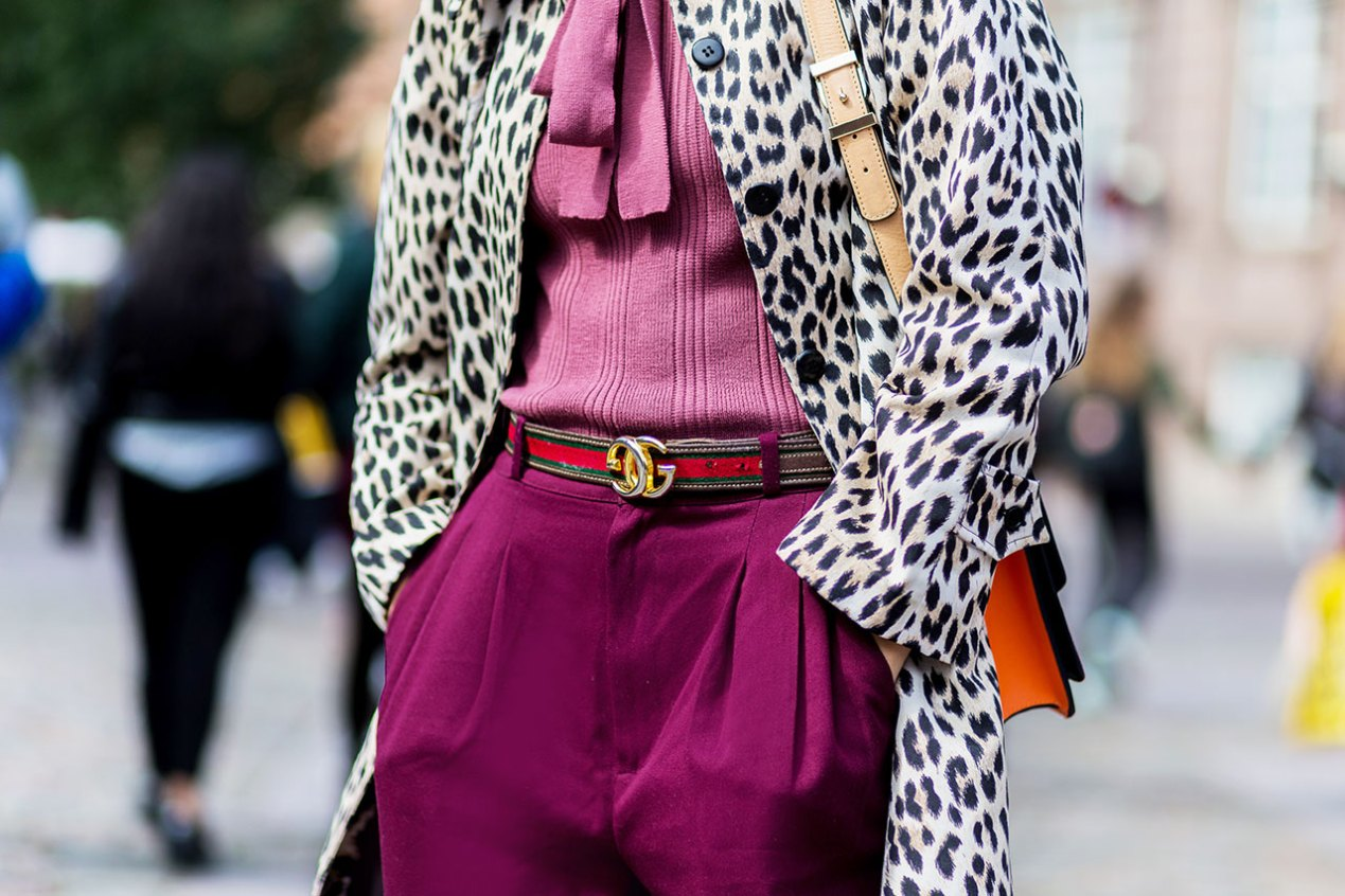 Leopard print street style by The Zoe Report. Fashionable Habits | The Lady-like Leopard