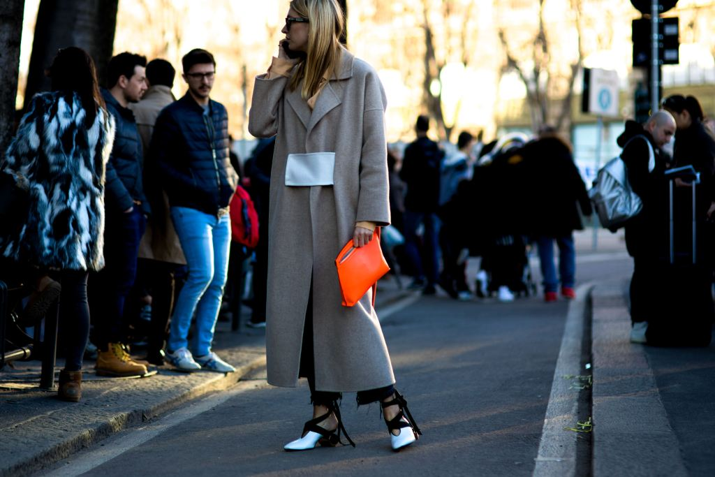 Camille Charriere at Paris Fashion Week. Fashionable Habits | The Lady-like Leopard