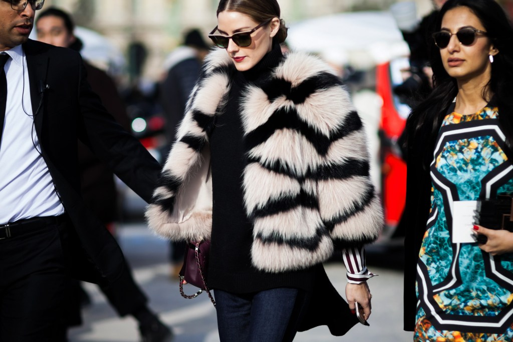 Olivia Palermo street style photographed by Shot By Gio. Fashionable Habits | The Lady-like Leopard