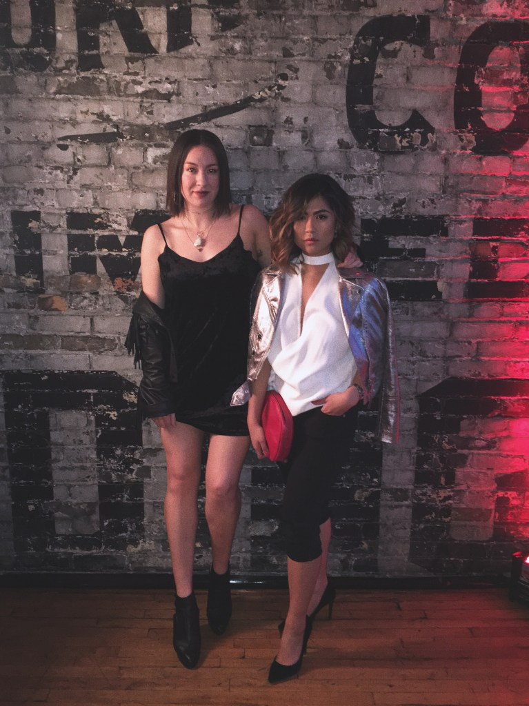 Melina Morry of The Lady-like Leopard and Sheila Joy Sy at YSL BEAUTY CLUB | @ladylikeleopard