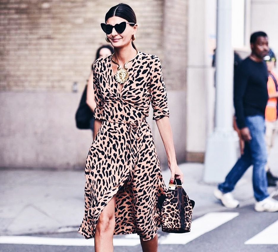 Giovanna Battaglia Leopard Print Dress | Where to Wear Leopard Print Dresses | The Lady-like Leopard Blog