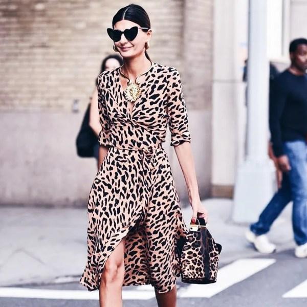 Giovanna Battaglia Leopard Print Dress | Where to Wear Leopard Print Dresses | The Lady-like Leopard Blog