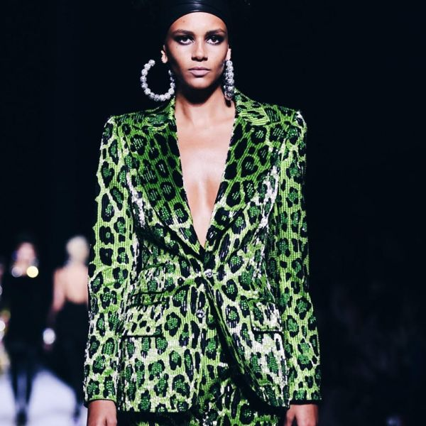 Leopard Prints at New York Fashion Week — Tom Ford | The Lady-like Leopard Blog by Melina Morry
