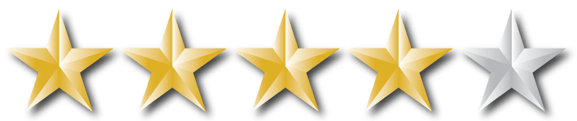 Image result for four out of five stars image