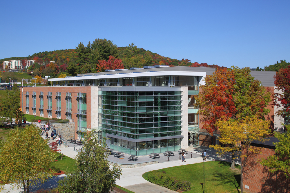 SUNY Oneonta Fitzelle Hall Expansion/Quad Design - The LA Group Landscape Architecture and Engineering PC