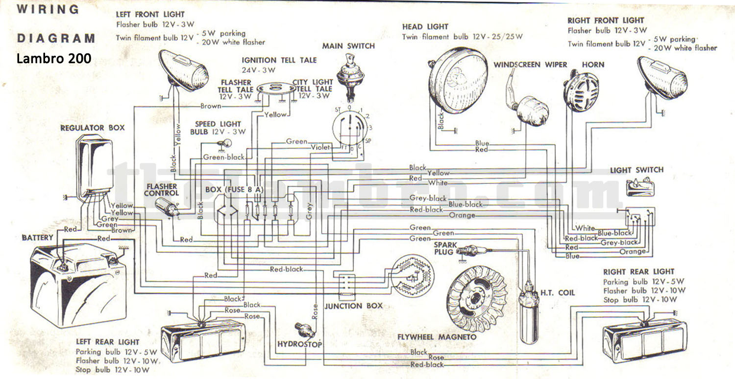 lambretta wiring diagram baseboard heater thermostat electronic imageresizertool com
