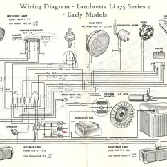 Lambretta Wiring Diagram With Indicators For Two Light Switches Series 2 33