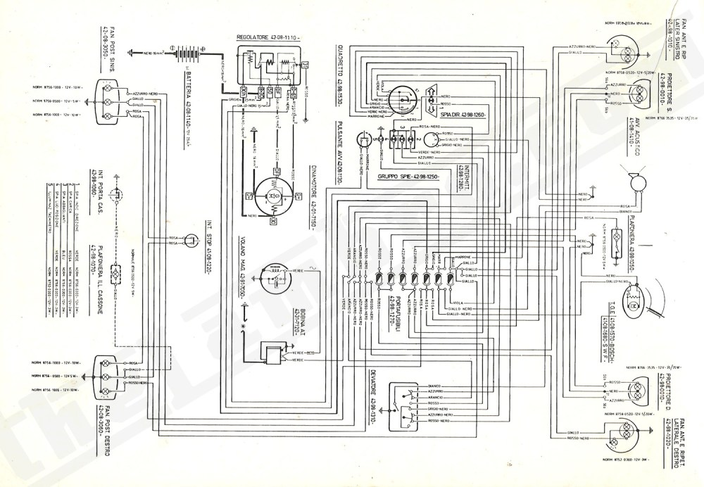 medium resolution of lambretta headlight wiring diagram
