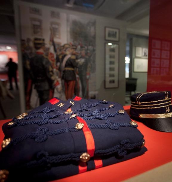 Alfred Dreyfus's uniform.