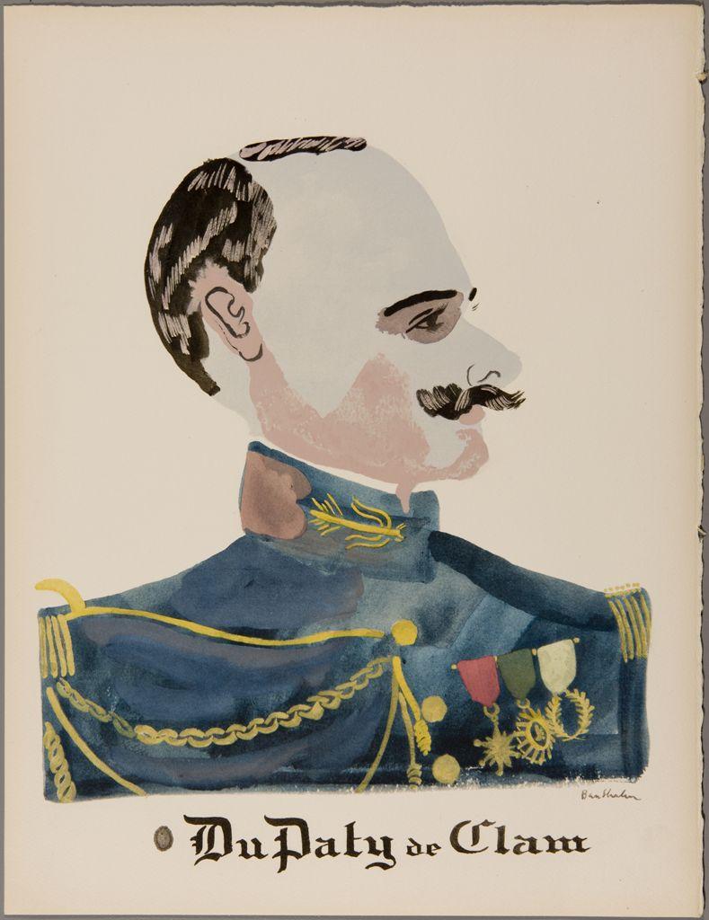 Commandant du Paty de Clam, Ben Shahn, 1984.