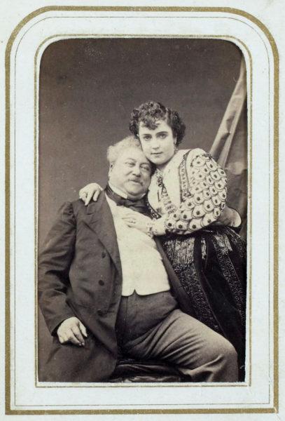 Alexandre Dumas and Adah Isaacs Menken